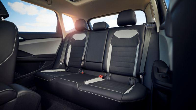 2021 VW Taos Back Seats