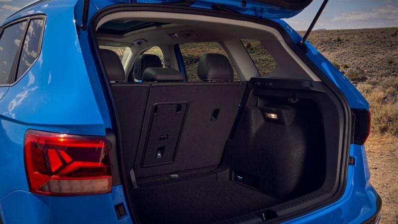 2021 VW Taos Trunk Space