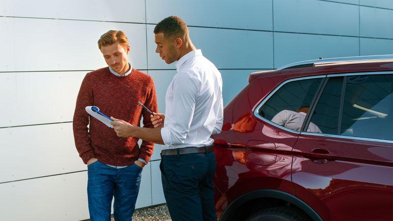 폭스바겐 Owners & drivers 서비스 이용하기
