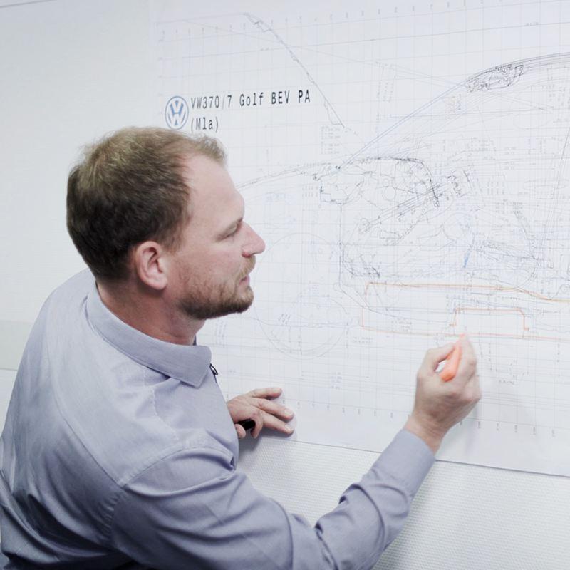 Marco Könnemann desenvolve conceitos do VW ID.3