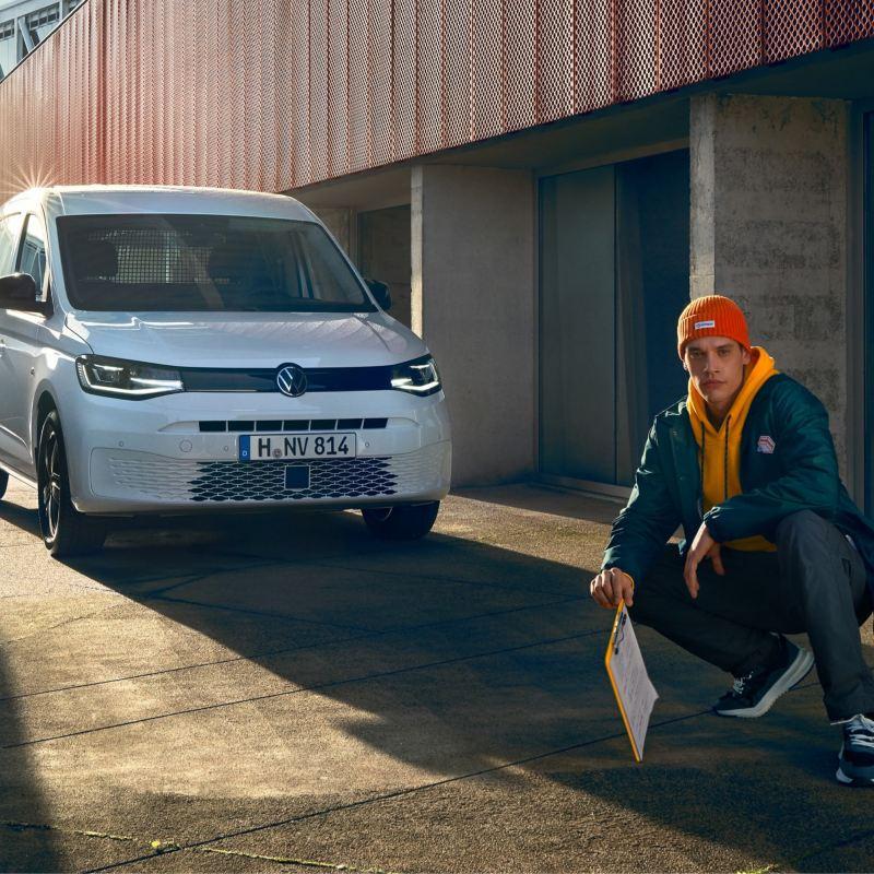 Volkswagen Caddy-umpipakettiauto