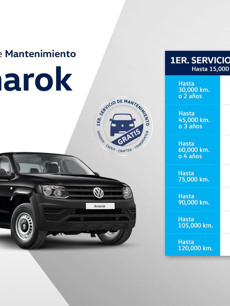 Servicio de mantenimiento VW Amarok