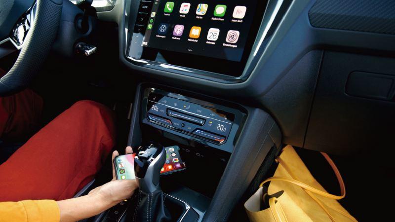 Volkswagen The new Tiguan 數位化座艙設計