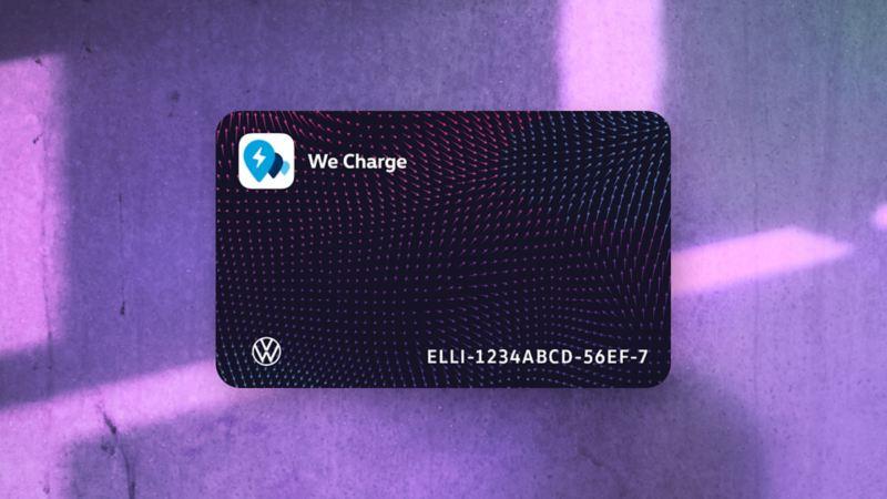En toute simplicité vers la carte de recharge WeCharge
