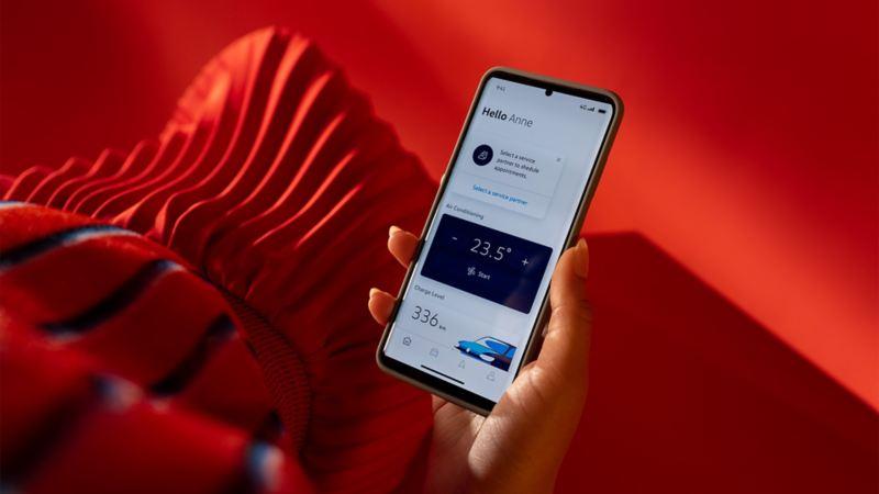 Strona główna We Connect ID. Aplikacja na smartfona
