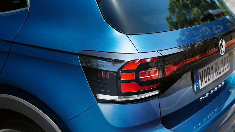 Flawless rear from a T-Cross R-Line thanks to VW Genuine Paint Sprays and Paint Sticks