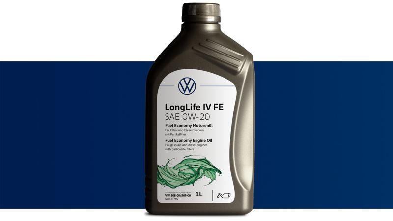 Volkswagen Genuine Fuel Economy Engine oil LongLife IV FE