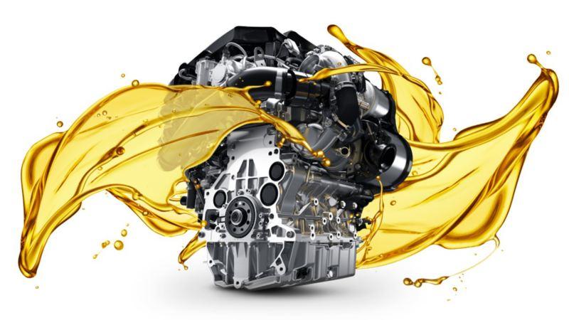 フォルクスワーゲン車専用に開発した 純正エンジンオイルを使用