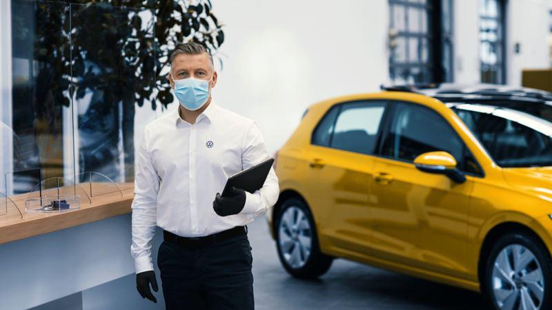 Volkswagen Dezenfeksiyon Önlemleri