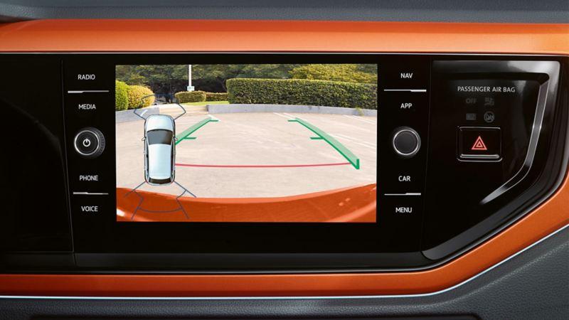 Volkswagen Geri Görüş Kamerası