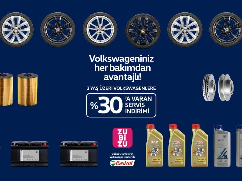 Volkswagen Zubizu Servis Kampanyası
