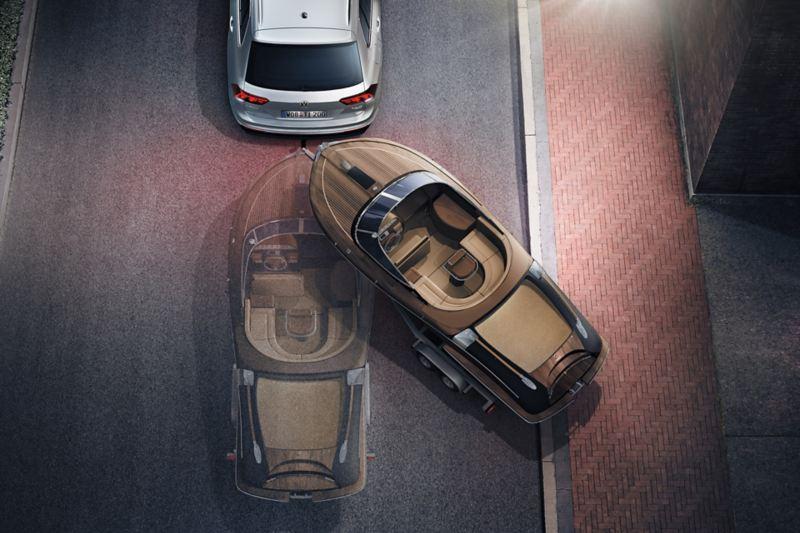 Volkswagen Römork Manevra Sistemi