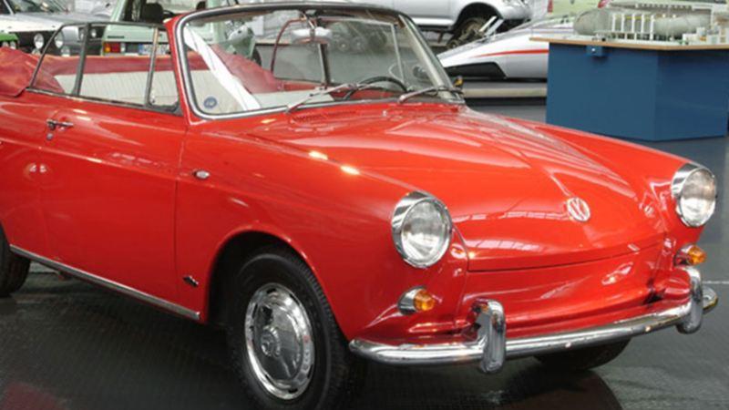 Volkswagen 1500 Convertible - El carro deportivo de VW producido en 1961