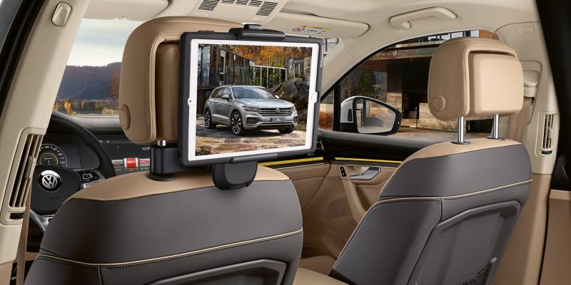 VW swivelling tablet holder for passengers in the rear – Volkswagen Accessories