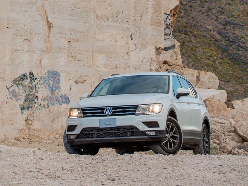 Camioneta SUV de Volkswagen equipada con Sistemas de luz de Curva