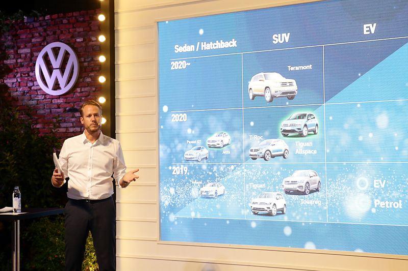"""""""5T 전략으로 최강의 SUV 라인업 완성한다!"""" 폭스바겐코리아, 5종의 SUV 출시 포함한 중장기 제품 로드맵 및 브랜드 비전 발표"""