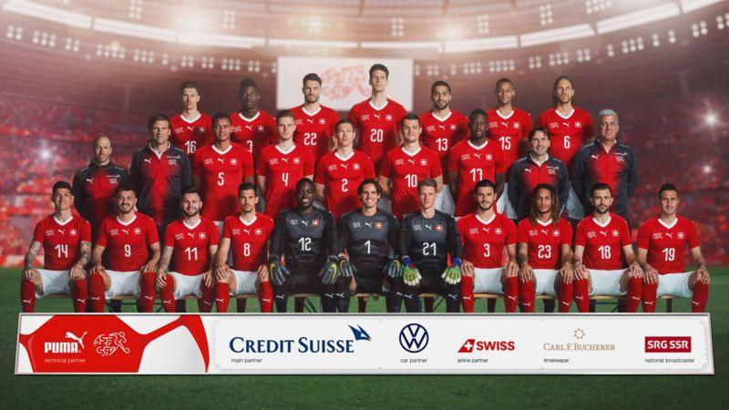 L'équipe nationale suisse de football