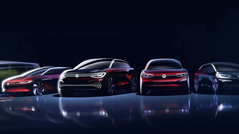 Our line of electric concept vehicles