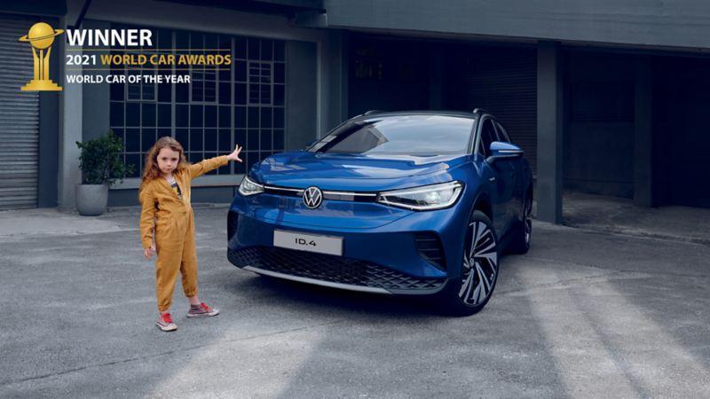 La ID.4 è World Car of the Year 2021
