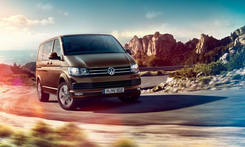 The Volkswagen Multivan