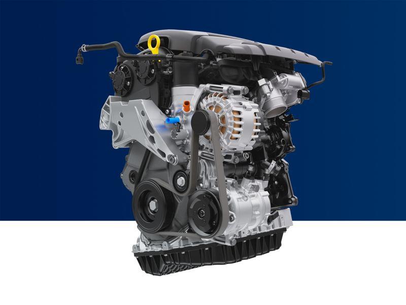 Volkswagen Genuine Engine in cross section