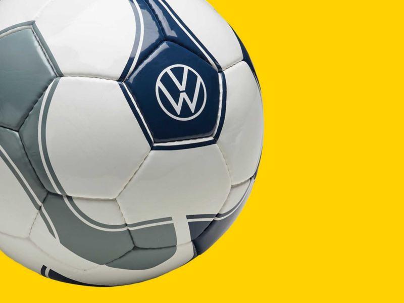 Pallone da calcio originale Volkswagen con logo VW.