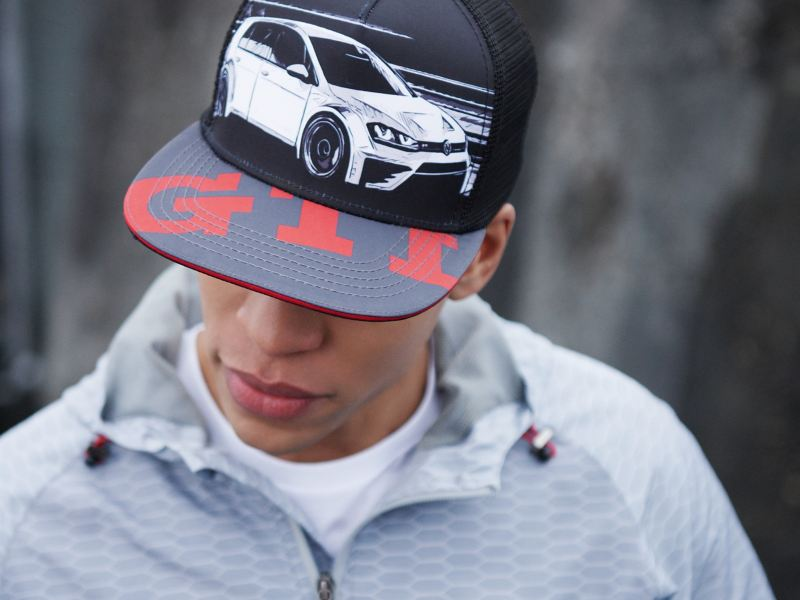 A man in a baseball cap from the VW GTI Collection