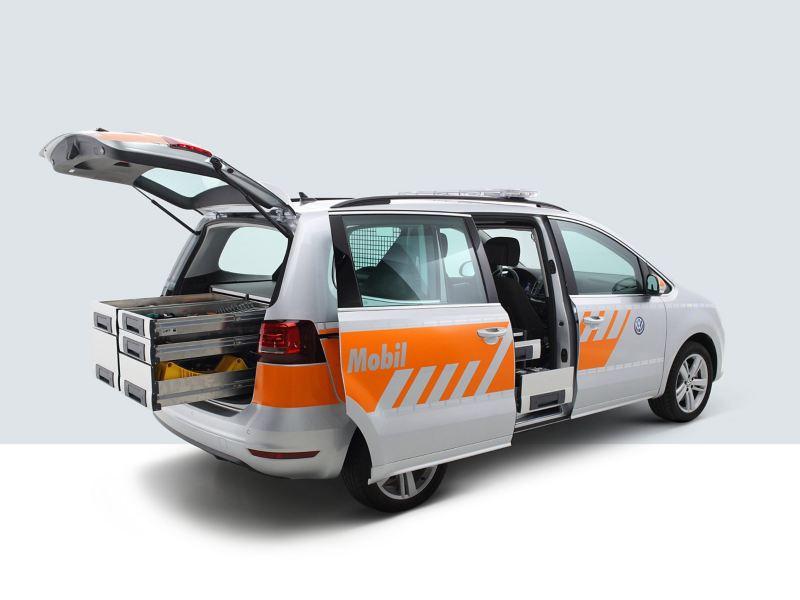 Volkswagen Roadside Assistance vehicle