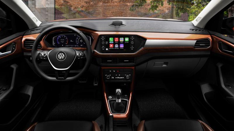 Cabina de Nuevo T-Cross - SUV Inteligente de Volkswagen México