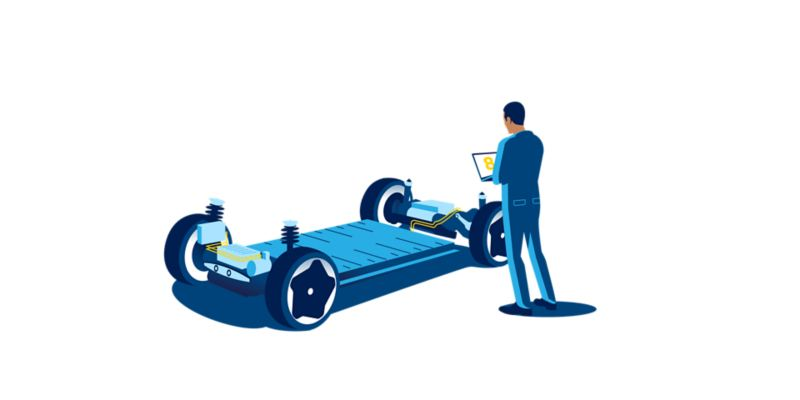 The MEB chassis with an 8 year warranty