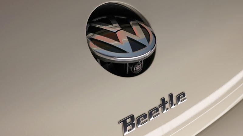 Cámara trasera presente en Beetle Final Edition Volkswagen, la última edición del modelo