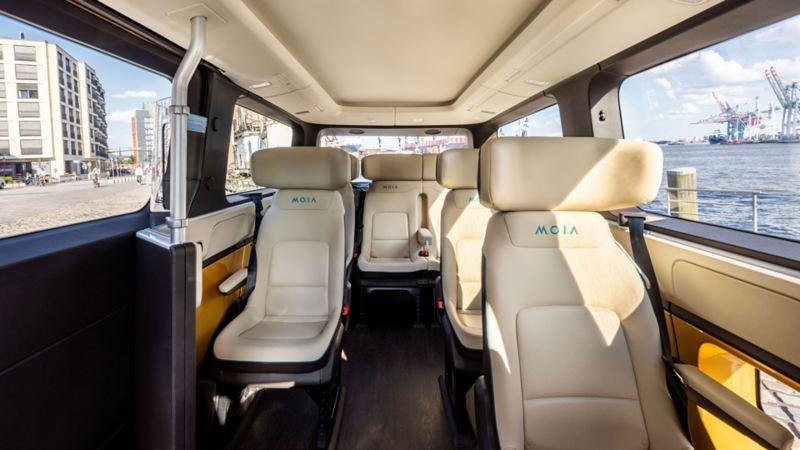 Bildet viser Volkswagen MOIA e-Crafter elbil