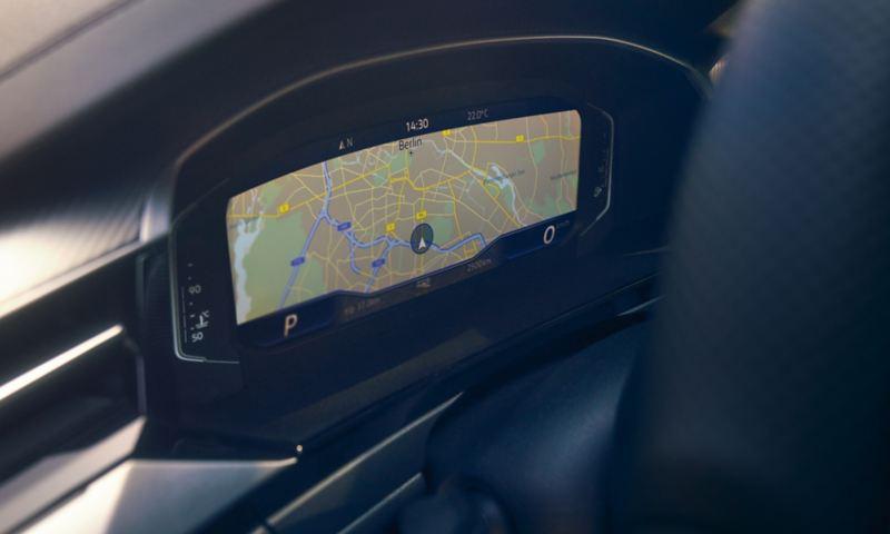 Afbeelding toont optioneel navigatiesysteem Discover Pro