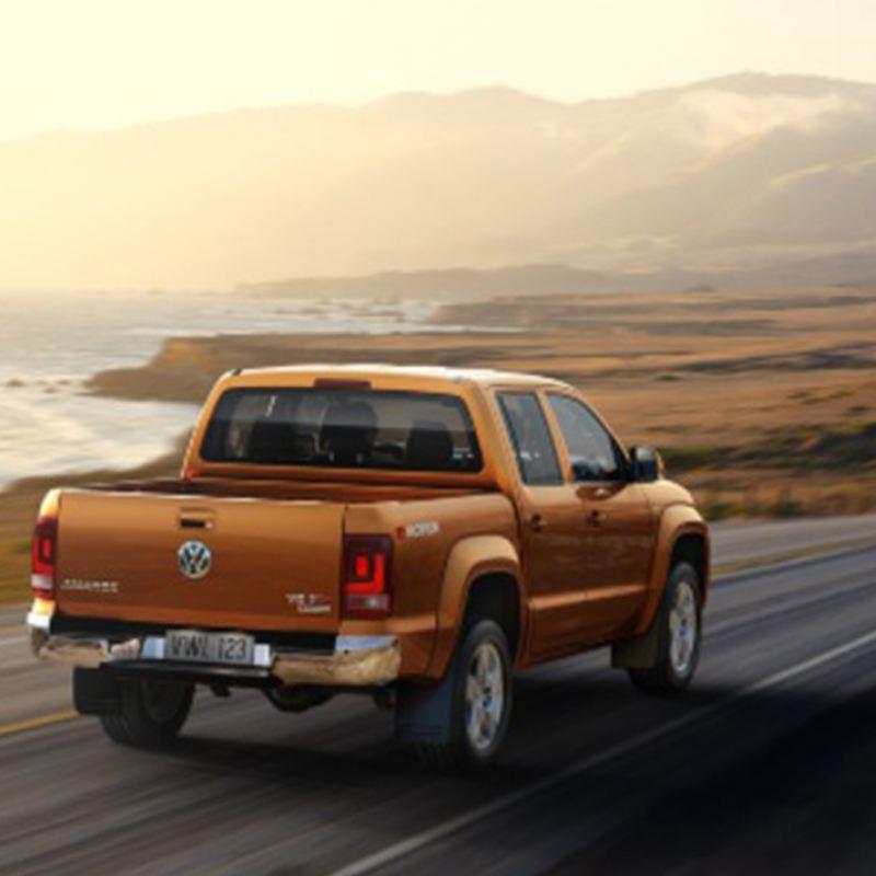 Amarok V6, la camioneta Pick Up Volkswagen haciendo recorrido de Proyecto Panamericana