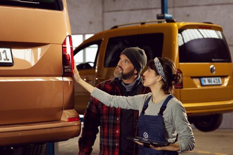 Entretien et réparation des véhicules utilitaires en atelier