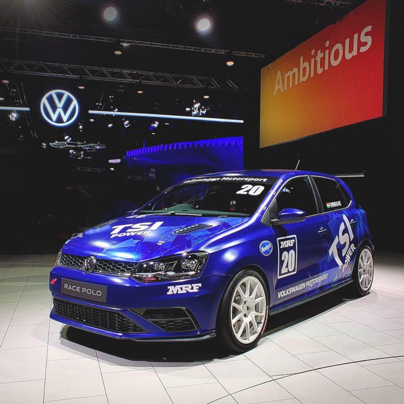 Auto Expo Live Race Polo