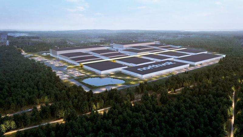 Hur fabriken planeras att se ut
