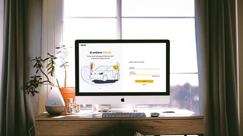 Mitt Bilhold vw Volkswagen varebiler bestille service merkeverksted