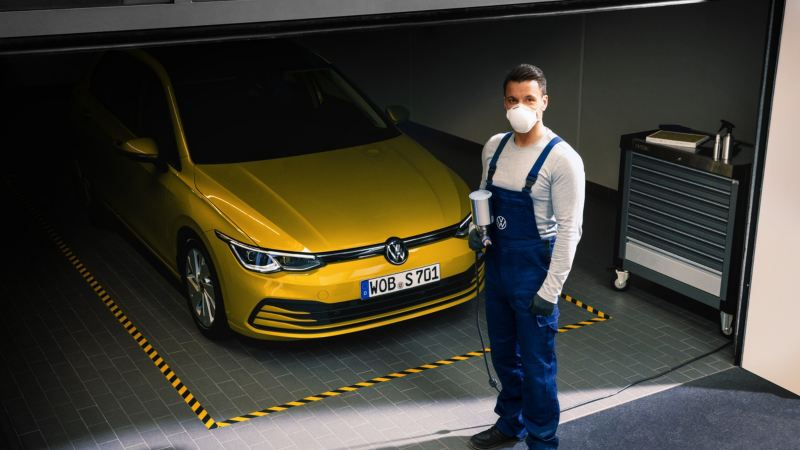 Volkswagen Body and Paint Services