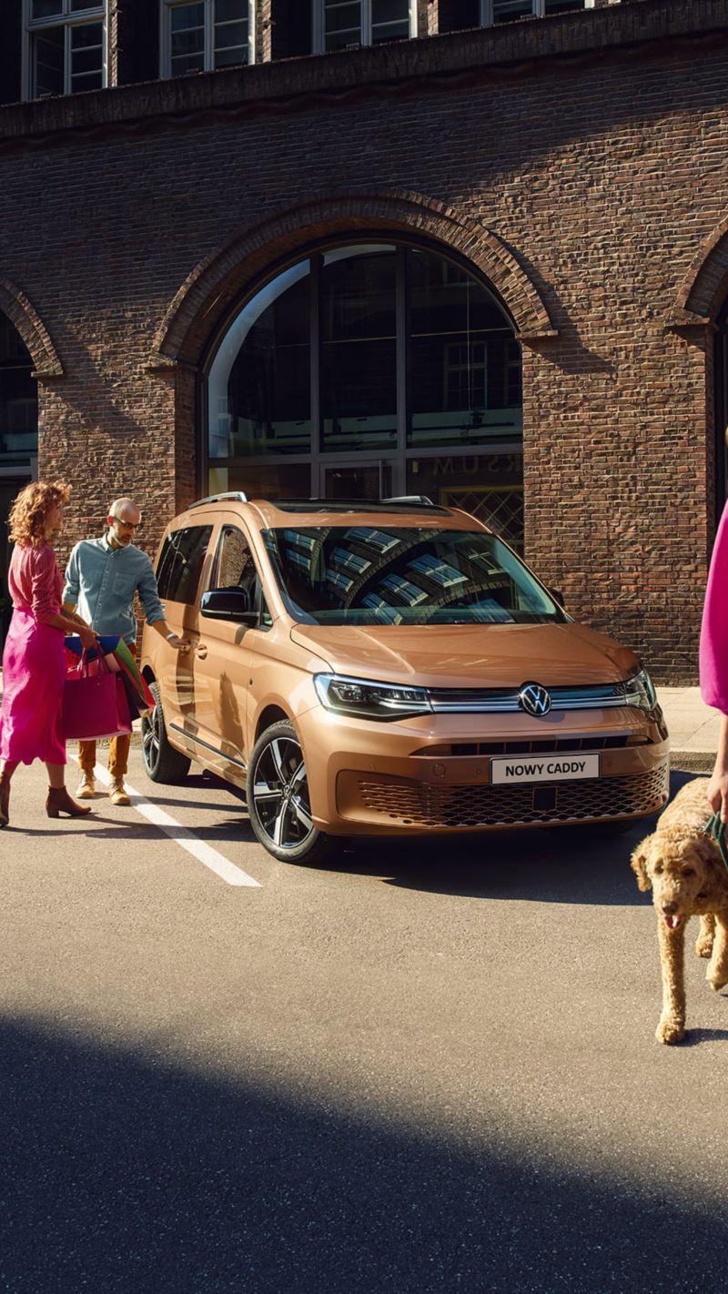 Nowy Volkswagen Caddy przyjaciel rodziny