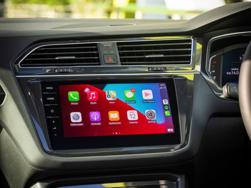 9.2 inch touchscreen infotainment system