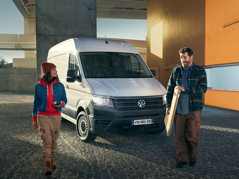 Volkswagen Véhicules Utilitaires Crafter Business Line vu de profil