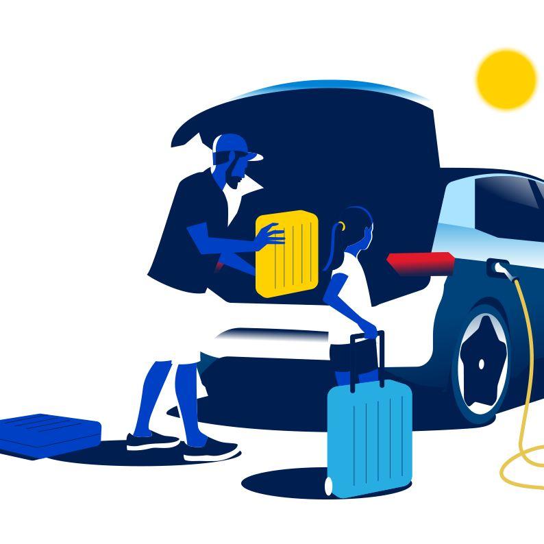 Parkering med elbil