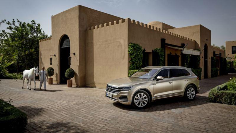 Un VW touareg à Marrakech