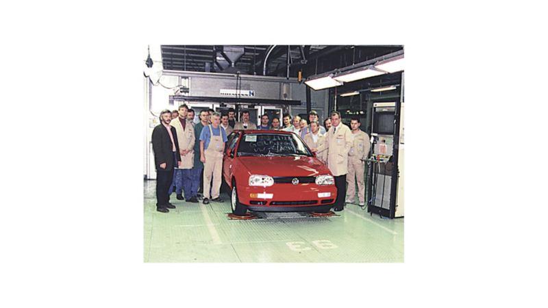 Grudzień 1996 r.: pożegnanie Golfa III