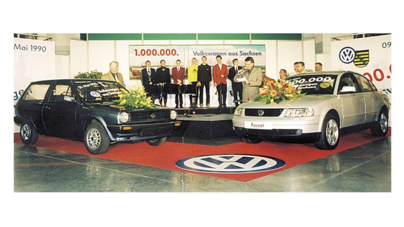 W lipcu 1999 roku świętowano w Saksonii wyprodukowanie milionowego Volkswagena