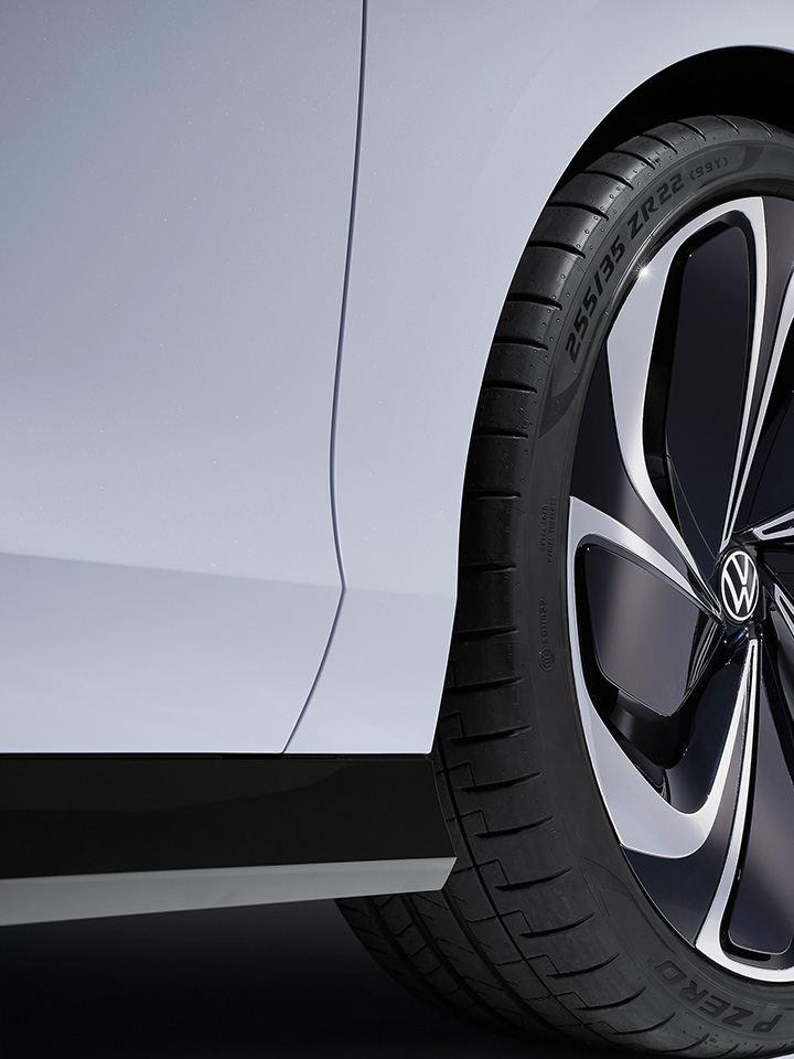 Die Seite des Volkswagen ID. SPACE VIZZION