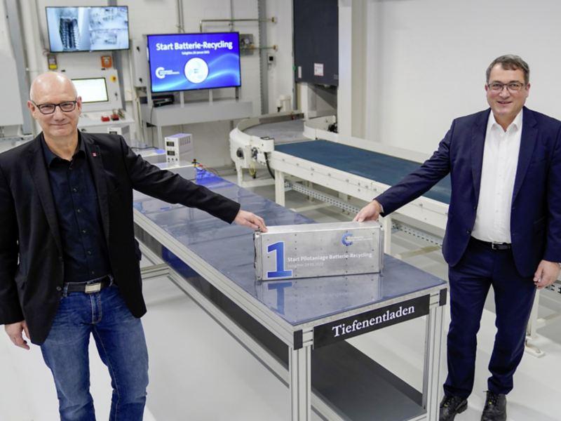 Volkswagen Group Components rozpoczyna recykling akumulatorów