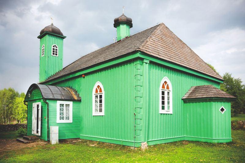 Meczet w Kruszynianach.