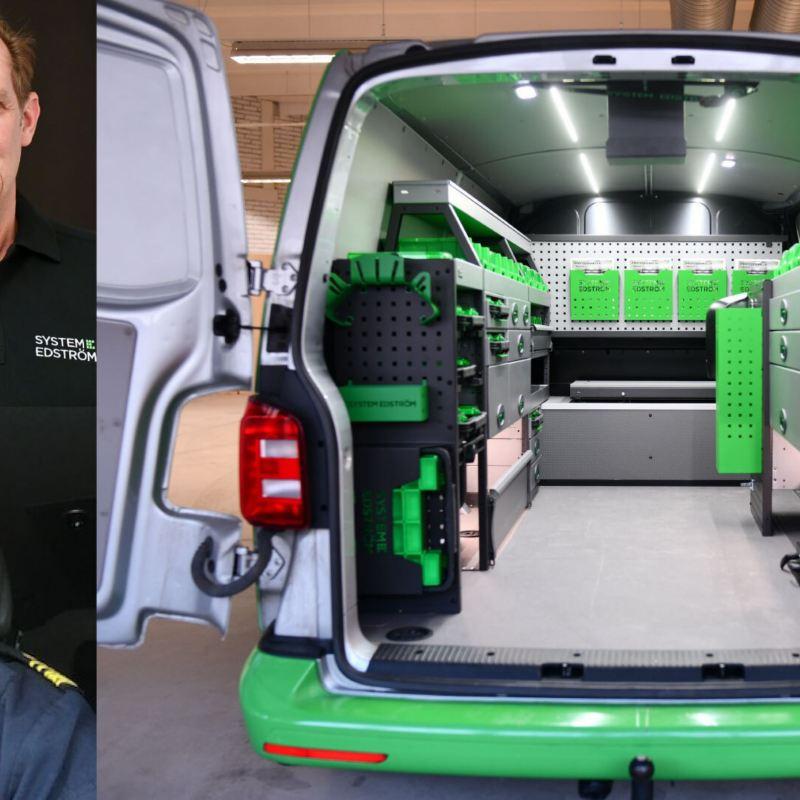 Lastutrymme på en Volkswagen transportbil